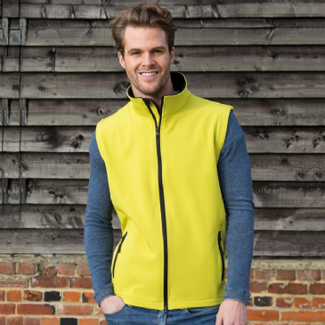 Result RS232M Core Printable Soft Shell Bodywarmer